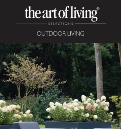 """Advertentie in de speciale editie van """"Art of Living"""""""